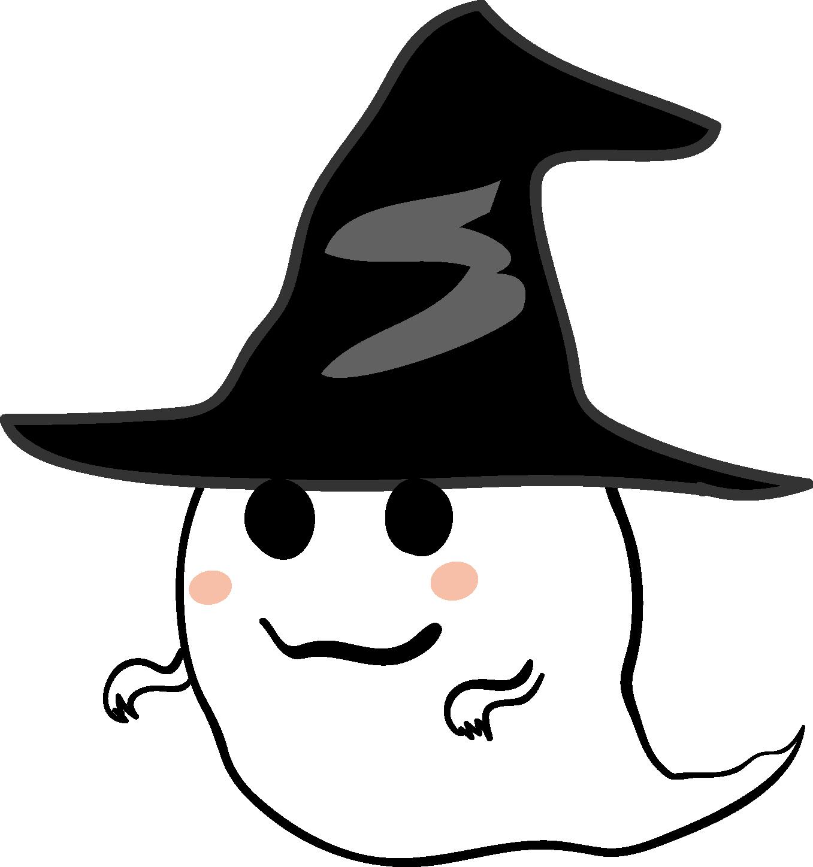 ハロウィン・おばけのイラスト ... : ネームシールテンプレート無料 : 無料