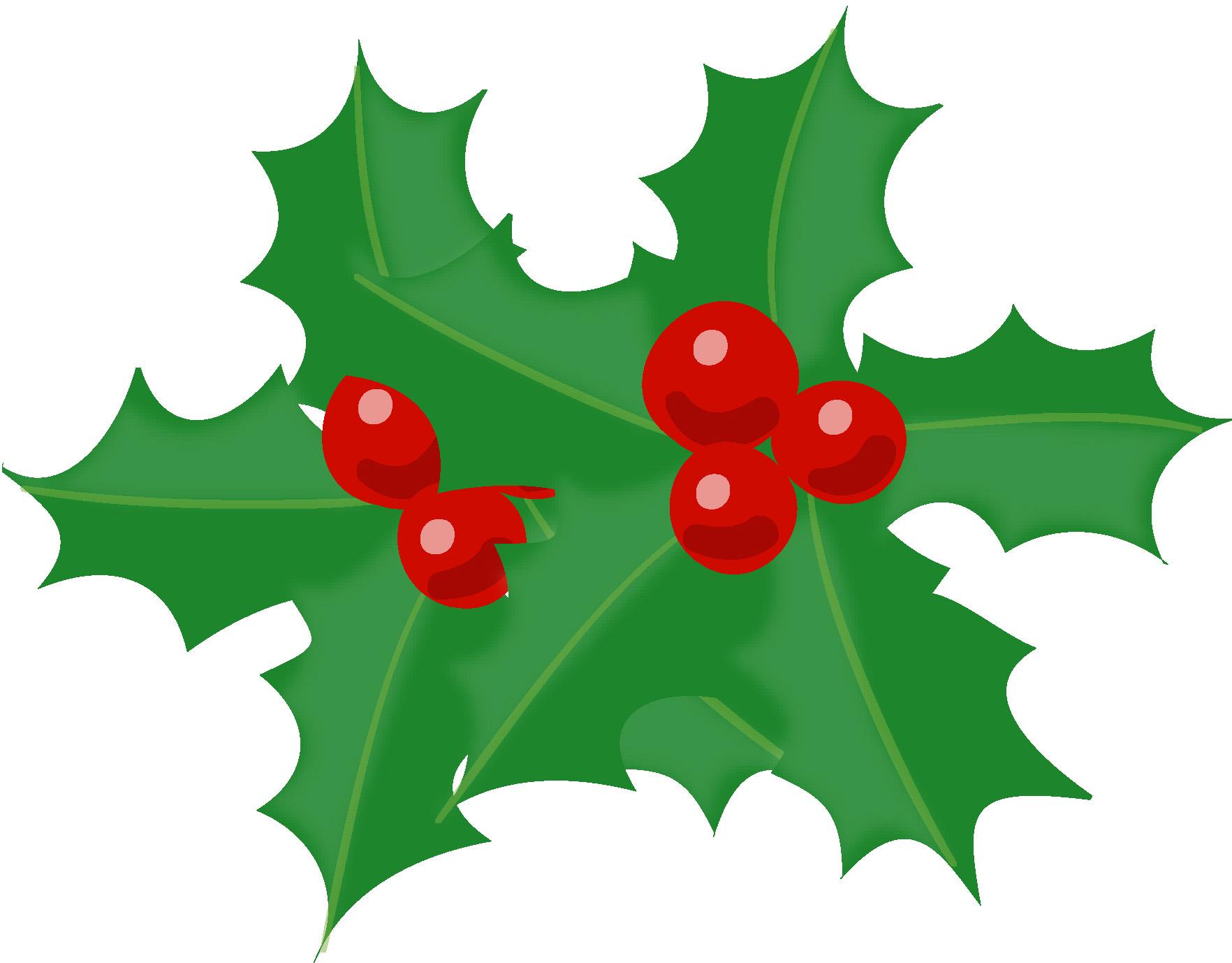 クリスマス・柊のイラスト素材 ... : クリスマスメッセージカード テンプレート : カード