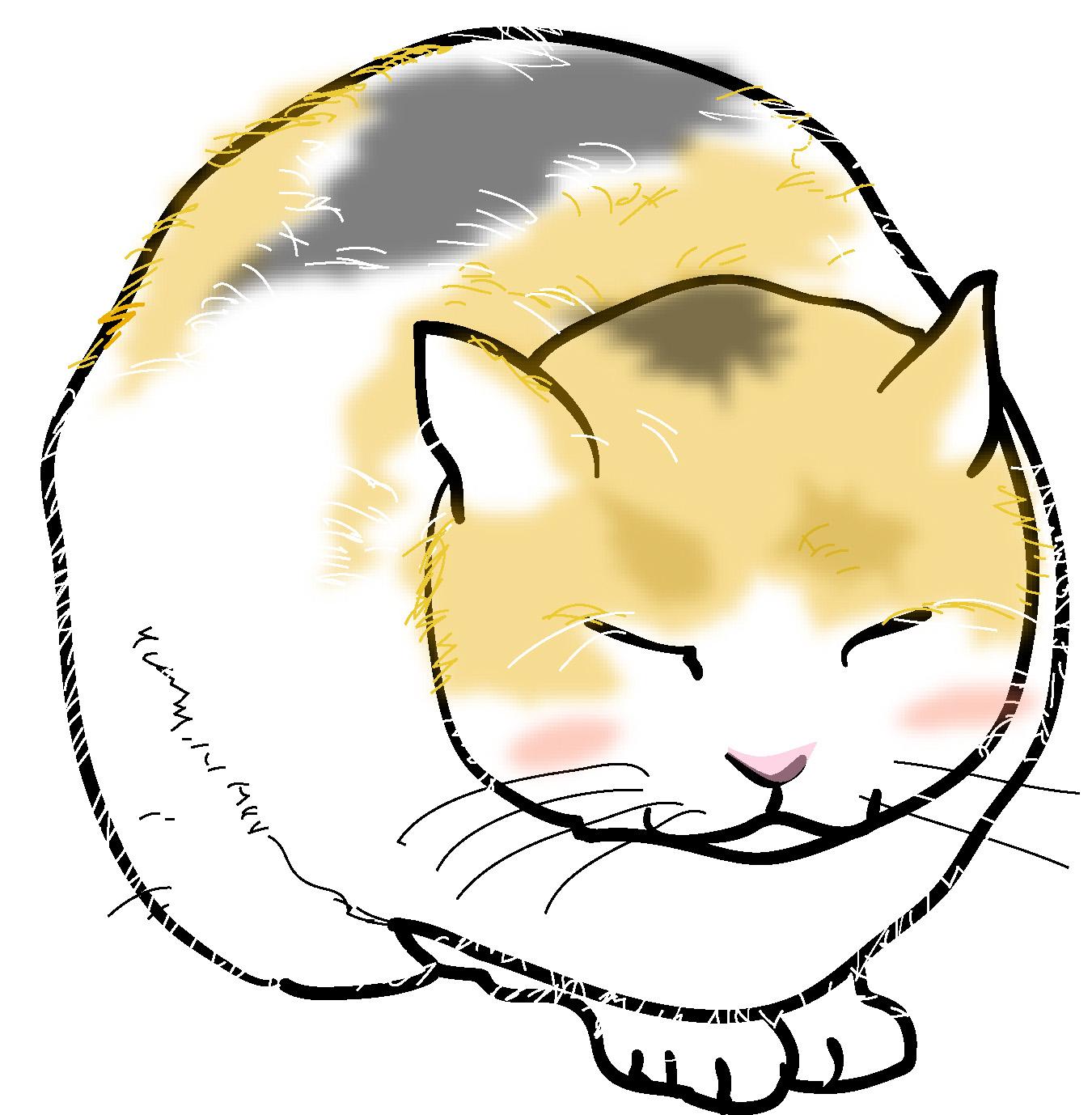 猫のイラスト素材ダウンロード : 便箋 テンプレート 無料 冬 : 無料