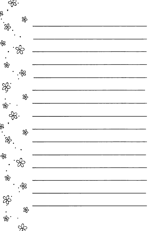 便箋テンプレート「小花 ... : 便箋 ダウンロード : すべての講義