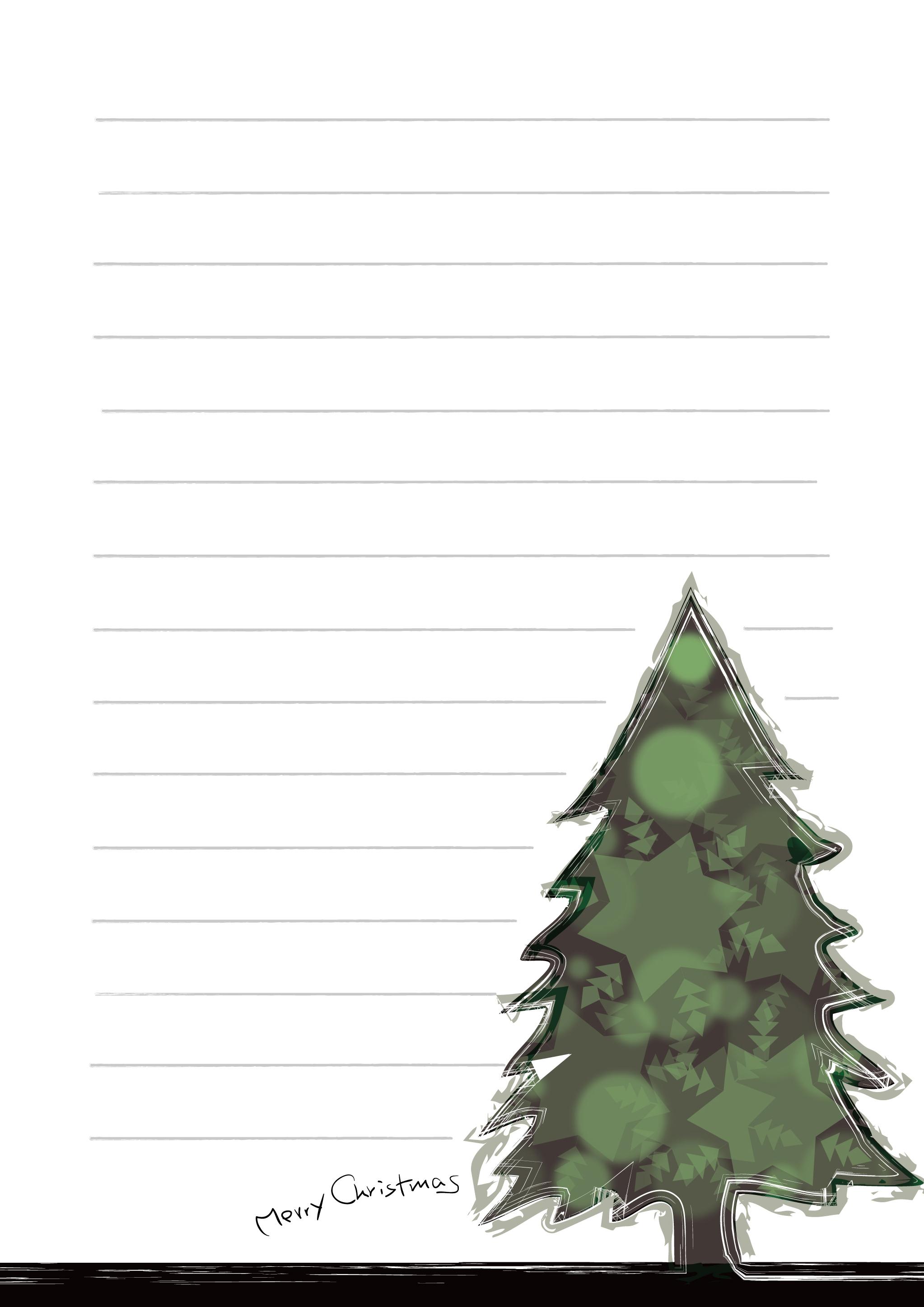おしゃれ ツリー クリスマス イラスト
